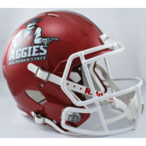 Riddell NCAA New Mexico St Aggies Revolution Speed Replica Full Size Helmet