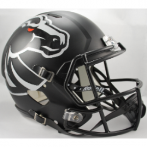 Riddell NCAA Boise State Broncos Matte Black Revolution Speed Replica Full Size Helmet