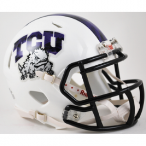 Riddell NCAA TCU Horned Frogs Speed Mini Football Helmet