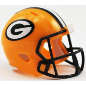 Riddell NFL Green Bay Packers Revolution Speed Pocket Size Helmet