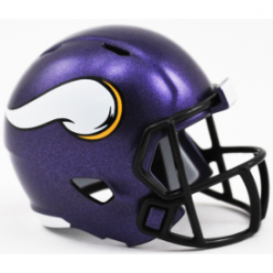 Riddell NFL Minnesota Vikings Revolution Speed Pocket Size Helmet