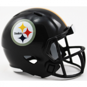 Riddell NFL Pittsburgh Steelers Revolution Speed Pocket Size Helmet