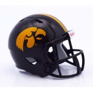 Riddell NCAA Iowa Hawkeyes Revolution Speed Pocket Size Helmet