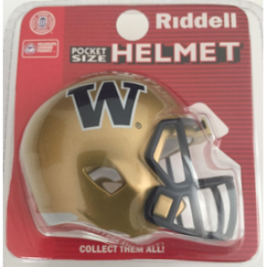 Riddell NCAA Washington Huskies Speed Pocket Size Football Helmet
