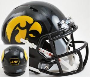Iowa Hawkeyes America Needs Farmers Revolution Speed Mini Helmet