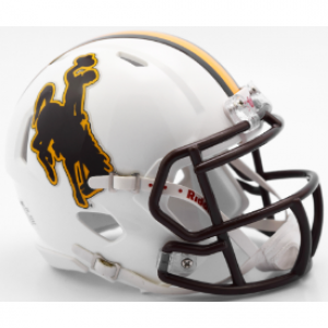 Riddell NCAA Wyoming Cowboys Speed Mini Football Helmet