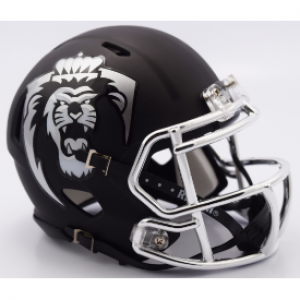 Riddell NCAA Old Dominion Monarchs Matte Black Revolution Speed Mini Helmet