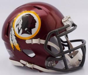 Washington Redskins Tribute Riddell Mini Speed Helmet