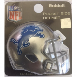 Riddell NFL Detroit Lions 2017 Revolution Speed Pocket Size Helmet