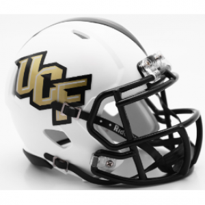 Riddell NCAA UCF Knights Matte White Speed Mini Football Helmet