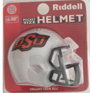 Riddell NCAA Oklahoma St Cowboys Speed Pocket Size Football Helmet