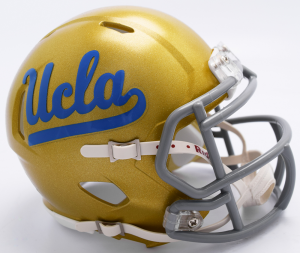 Riddell NCAA UCLA Bruins 2017 Speed Mini Football Helmet