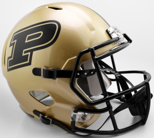 Riddell NCAA Purdue Boilermakers 2017 Replica Speed Full Size Football Helmet