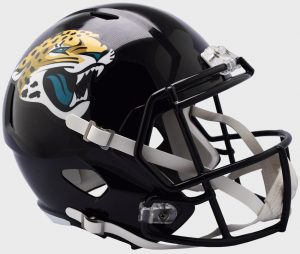 Riddell NFL Jacksonville Jaguars 2018 Replica Speed Full Size Football Helmet