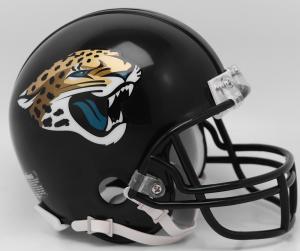 Riddell NFL Jacksonville Jaguars 2018 Replica Vsr4 Mini Football Helmet