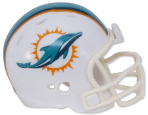 Riddell NFL Miami Dolphins 2018 Speed Pocket Size Football Helmet