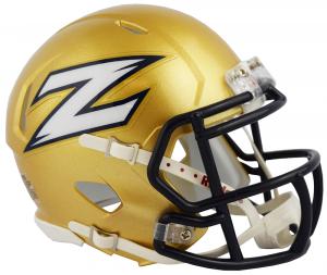 Riddell NCAA Akron Zips 2018 Speed Mini Football Helmet