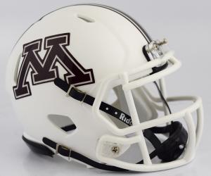 Riddell NCAA Minnesota Golden Gophers 2018 White Speed Mini Football Helmet
