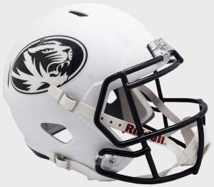 Riddell Mississippi (Ole Miss) Rebels 2018 White Replica Speed Full Size Helmet