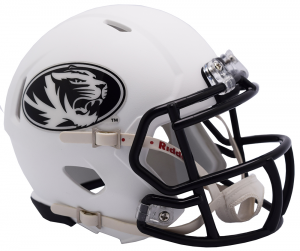 Riddell Missouri Tigers 2018 Matte White Speed Mini Helmet