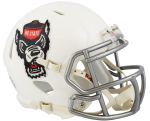 Riddell Mississippi (Ole Miss) Rebels 2018 White Speed Mini Helmet