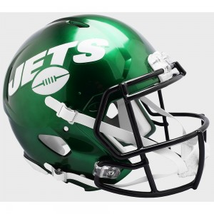 Riddell NFL New York Jets 2019 Authentic Speed Full Size Football Helmet