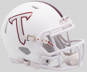 Riddell NCAA Troy Trojans T Side Decals Speed Mini Football Helmet