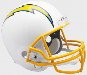 San Diego Chargers Replica Full Size Helmet
