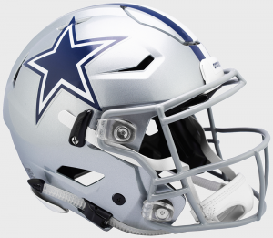 Riddell NFL Dallas Cowboys Authentic SpeedFlex Full Size Football Helmet
