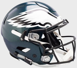 Riddell NFL Philadelphia Eagles Authentic SpeedFlex Full Size Football Helmet