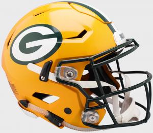 Riddell NFL Green Bay Packers Authentic SpeedFlex Full Size Football Helmet