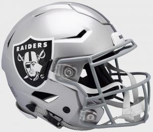 Las Vegas Raiders Riddell Full Size Authentic SpeedFlex Helmet