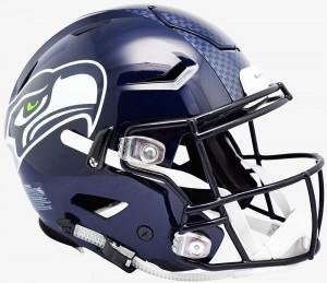 Seattle Seahawks Riddell Full Size Authentic SpeedFlex Helmet
