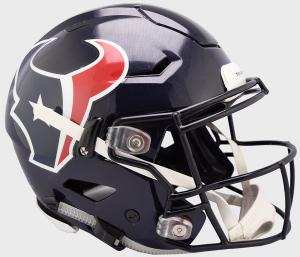 Riddell NFL Houston Texans Authentic SpeedFlex Full Size Football Helmet