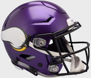 Riddell NFL Minnesota Vikings Authentic SpeedFlex Full Size Football Helmet