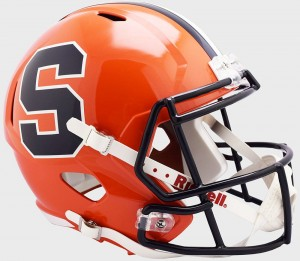 Riddell NCAA Syracuse Orangemen 2019 Replica Speed Full Size Football Helmet