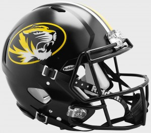 Missouri Tigers Authentic Revolution Speed Full Size Helmet