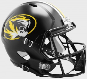 Riddell NCAA Missouri Tigers Revolution Speed Replica Full Size Helmet