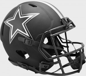 Dallas Cowboys 2020 Eclipse Riddell Full Size Authentic Speed Helmet