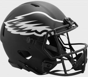 Philadelphia Eagles 2020 Eclipse Riddell Full Size Authentic Speed Helmet