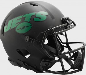 New York Jets 2020 Eclipse Riddell Full Size Authentic Speed Helmet