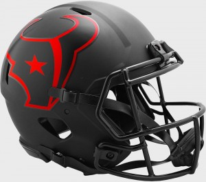 Houston Texans 2020 Eclipse Riddell Full Size Authentic Speed Helmet