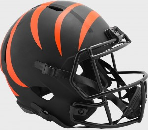 Cincinnati Bengals 2020 Eclipse Riddell Full Size Replica Speed Helmet