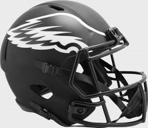 Philadelphia Eagles 2020 Eclipse Riddell Full Size Replica Speed Helmet