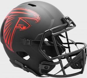 Atlanta Falcons 2020 Eclipse Riddell Full Size Replica Speed Helmet