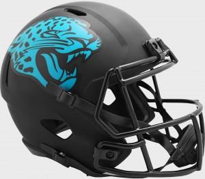 Jacksonville Jaguars 2020 Eclipse Riddell Full Size Replica Speed Helmet