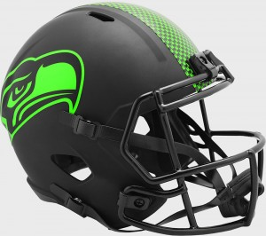 Seattle Seahawks 2020 Eclipse Riddell Full Size Replica Speed Helmet