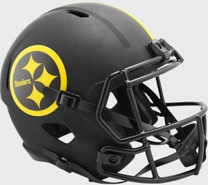 Pittsburgh Steelers 2020 Eclipse Riddell Full Size Replica Speed Helmet