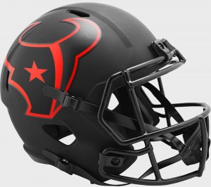 Houston Texans 2020 Eclipse Riddell Full Size Replica Speed Helmet