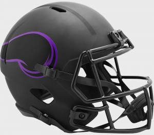 Minnesota Vikings 2020 Eclipse Riddell Full Size Replica Speed Helmet
